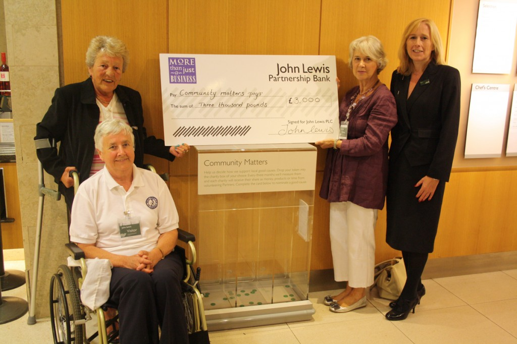 Post image for Fantastic support from John Lewis Partnership