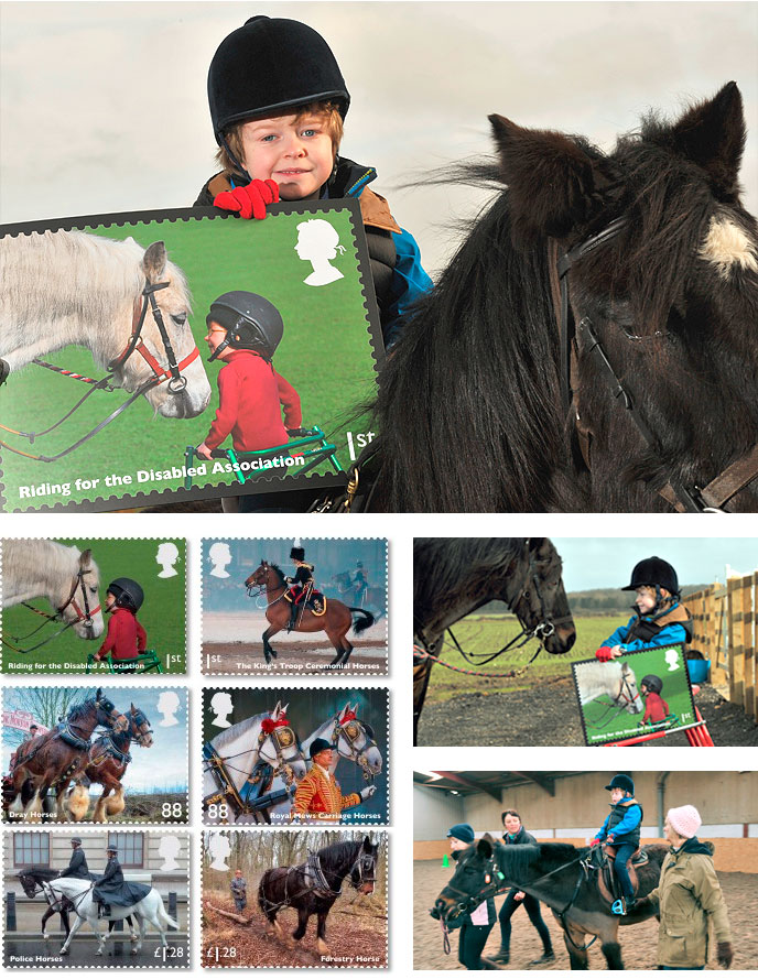 New Royal Mail Stamp features RDA