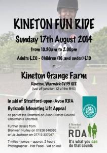 Kineton Fun Ride poster