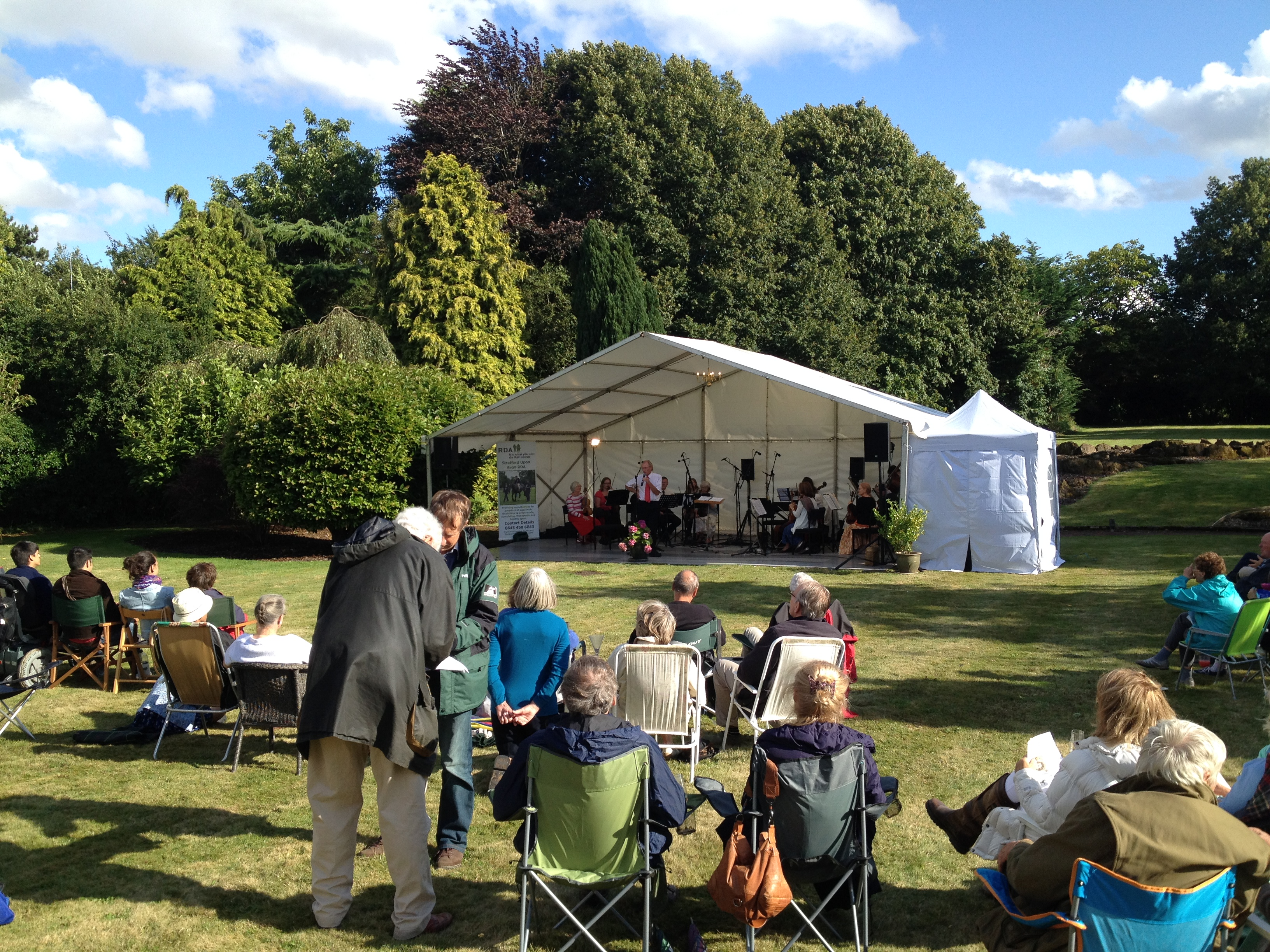 Post image for Garden concert a huge success!