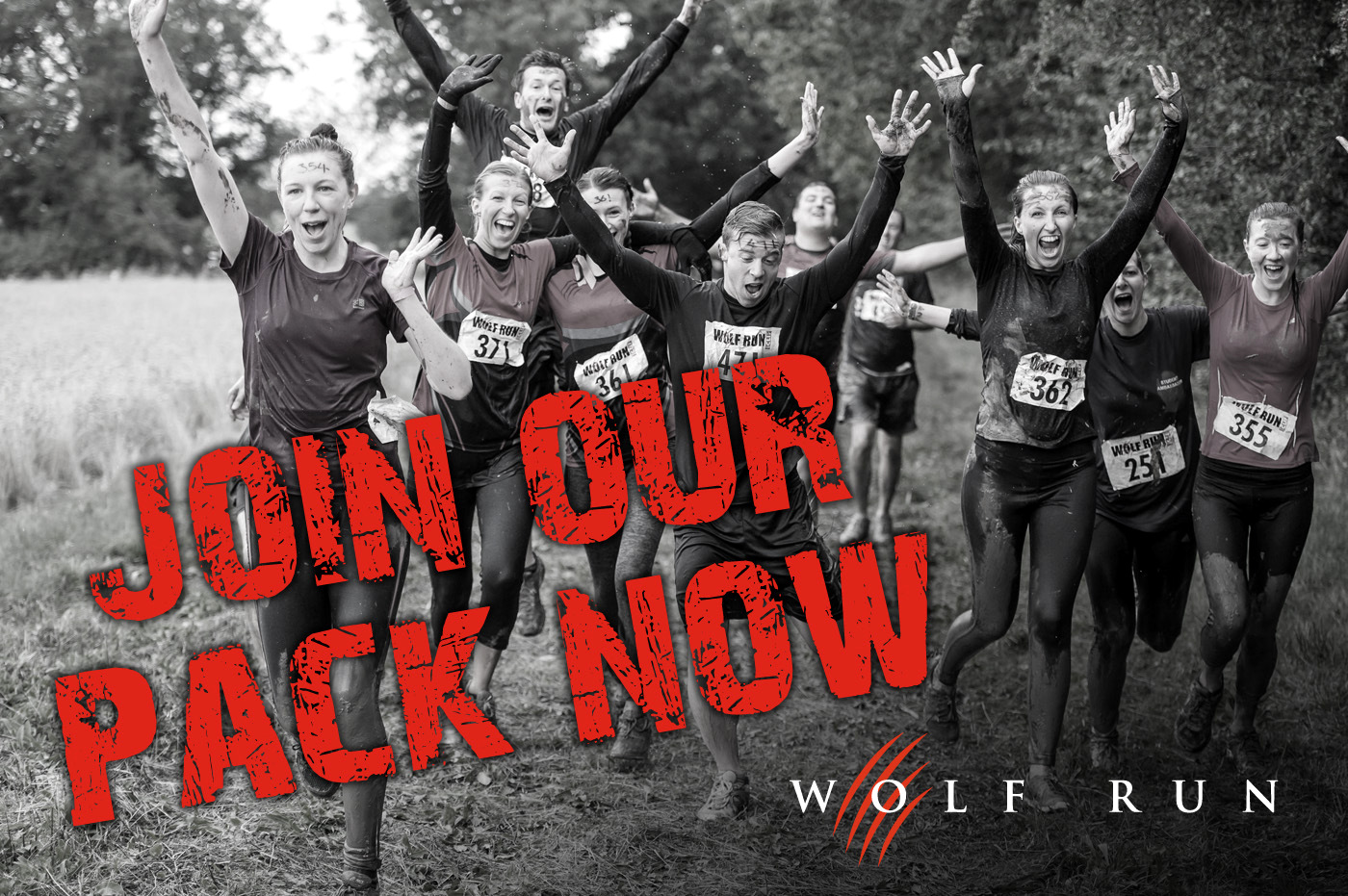 Post image for Want to have fun and help us raise funds – Be part of our pack in the Wolf Run!