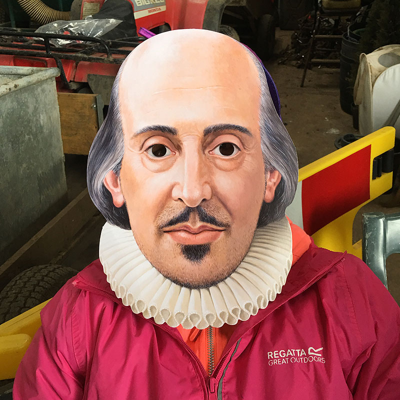 Post image for Shakespeare comes riding!
