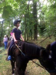 Henry in woods