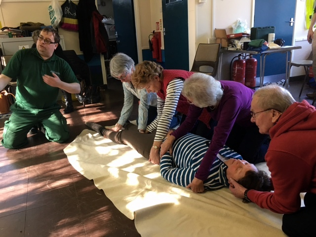 Post image for Volunteers attend First Aid refresher