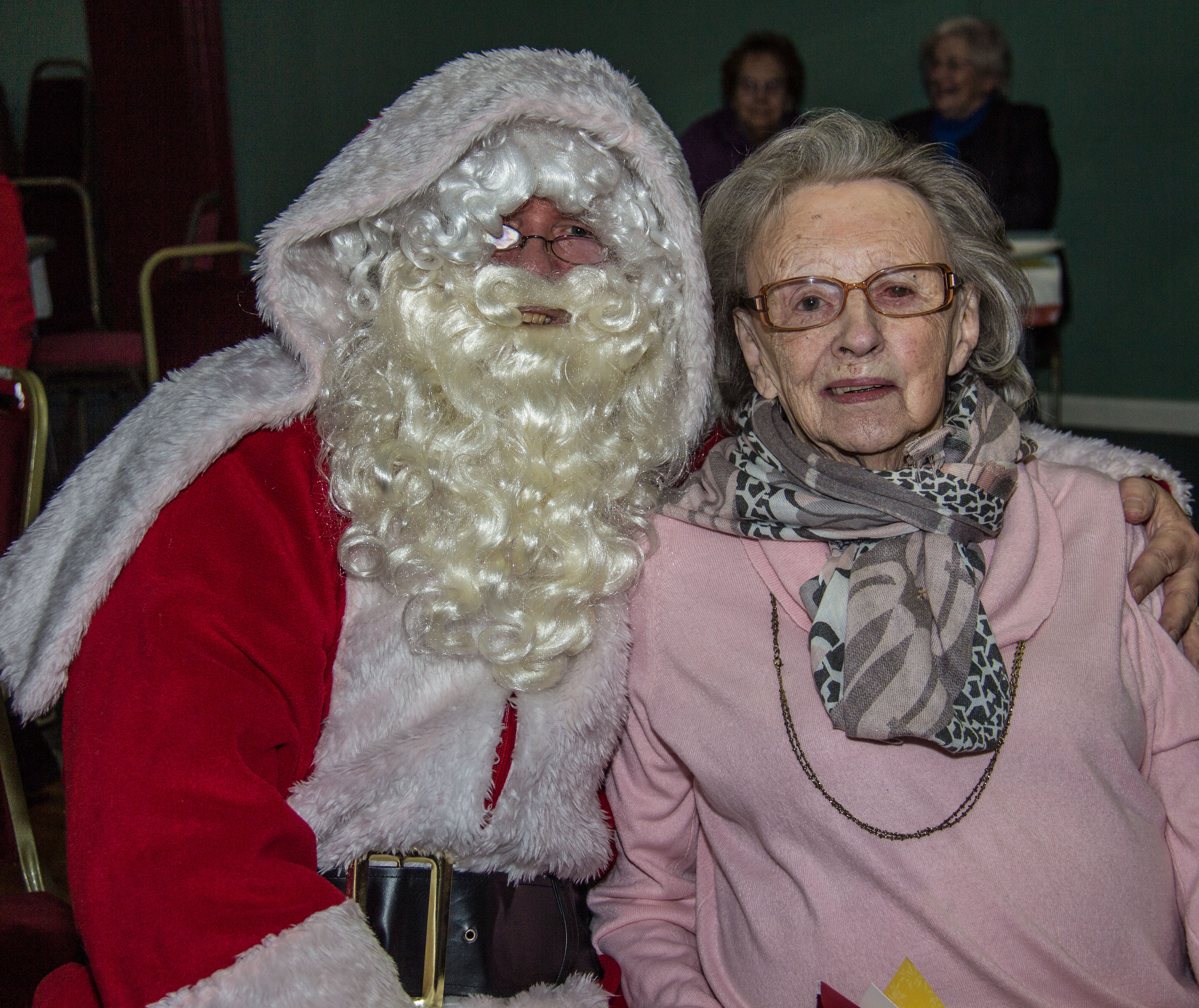 Post image for Presentations and Father Christmas at the Group's Christmas Party
