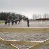 Thumbnail image for Riding in our new outdoor arena – lovely!